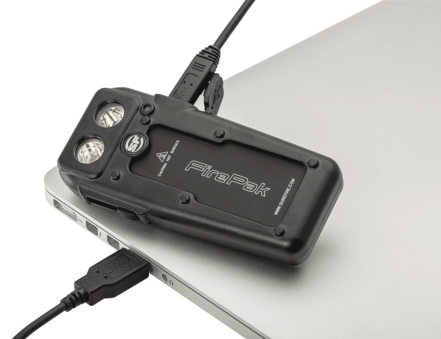 Best for moments in dark -FirePak™ Smartphone Video Illuminator + Charger