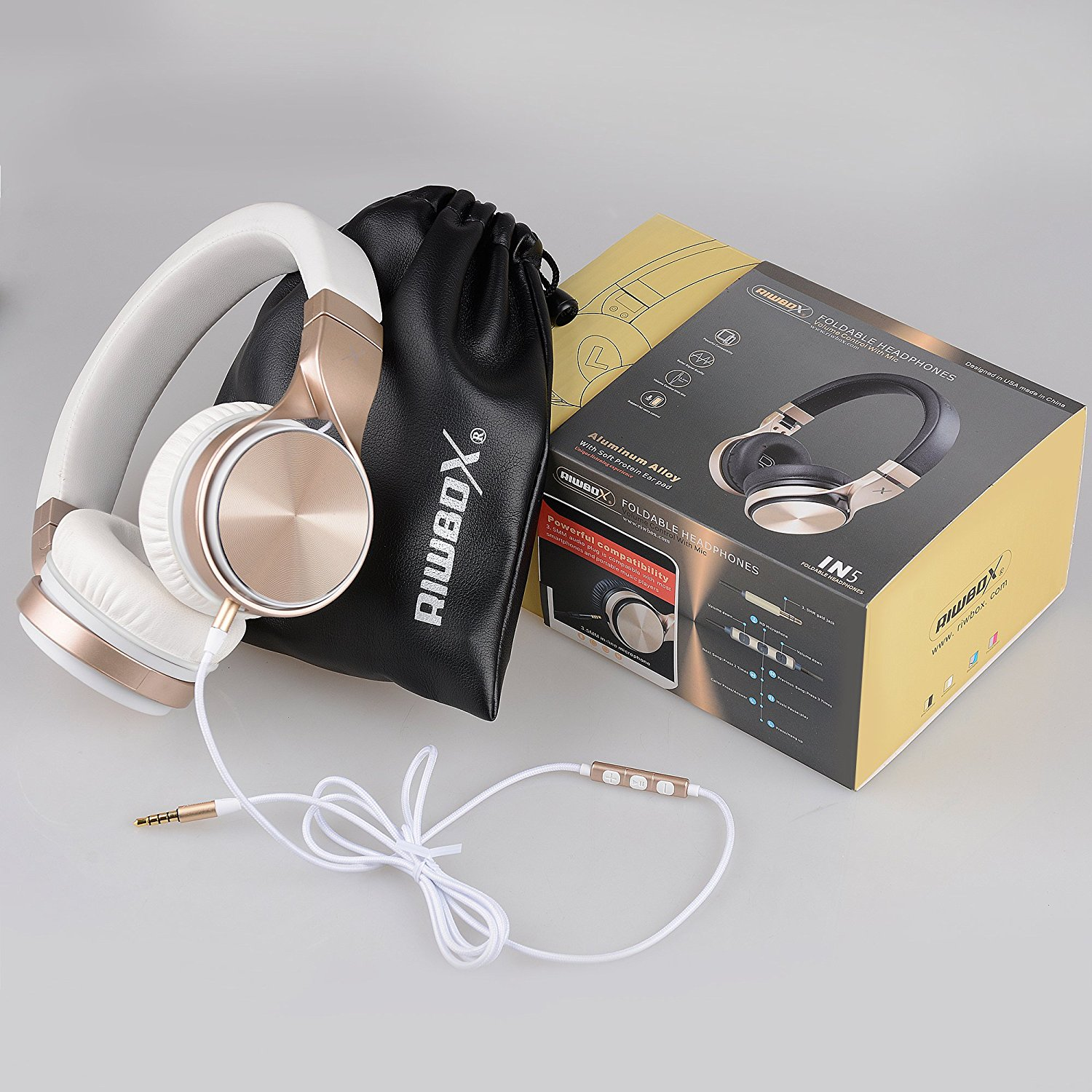 Riwbox IN5 Headphones Review