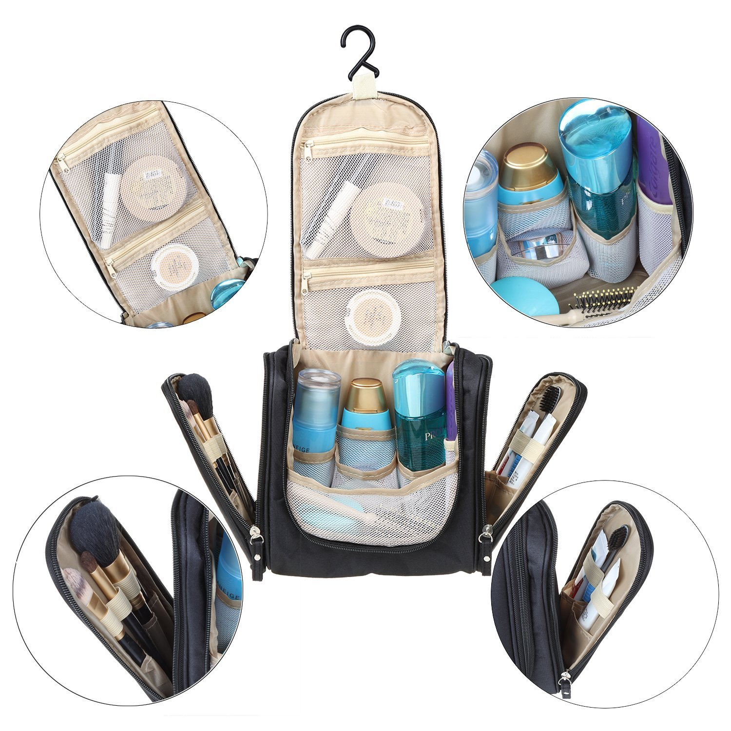 Bag which makes makeup travel!